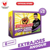 Extra Joss Laki Anggur 3 Pack (18 Sachet)