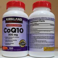 Kirkland Coq10 300Mg 100 Softgels Kirkland Signature Maximum Potency