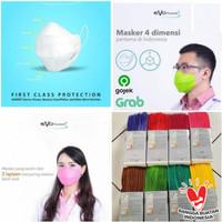 Masker EVO PLUSMED 3PLY (25pcs) Face Mask Surgical Duckbill *MERAH*