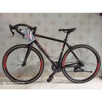 Sepeda Balap Roadbike Exotic ET 2708 Alloy