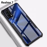Case Oppo Realme 7 2020 Case Softcase Hybrid Tranparan Hard Cover Case