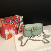 GUCCI MARMONT BABY PASTEL BAG