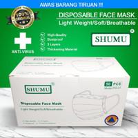 Masker Kesehatan 3ply Disposable Face Mask Medical Surgical Earloop