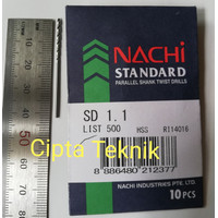 Mata bor besi Nachi 1,1mm - Matabor besi Nachi 1.1mm