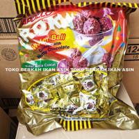 Apollo Roka Wafer Ball Coklat isi 80 pcs / Apollo Bola Cokelat