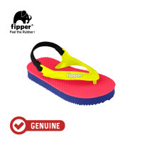 Fipper Todd's / Sandal Jepit Anak / Red Ruby / Blue Snorkel / Yellow