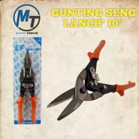 Gunting Seng Lancip Effel 10inchi - Gunting Holo - Gunting Baja ringan