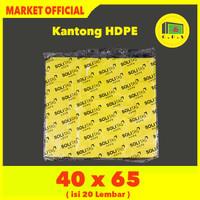 Kantong Plastik Kresek Warna-Warni Tebal UK 40x65 HDPE