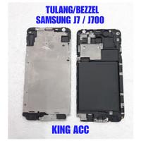 FRAME DUDUKAN TULANG TENGAH LCD SAMSUNG GALAXY J7 2015 J700 J700F ORIG
