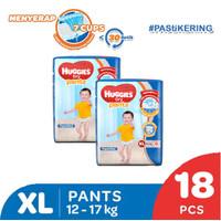 Buy 1 get 1 Free Huggies Dry Pants eco pack XL 18 ED 2021