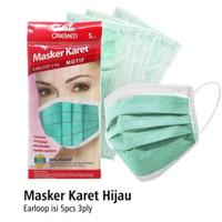 Masker Onemed 3 Ply Isi 5 pcs Earloop