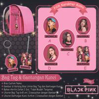 PO3hari Bagtag / Keychain / gantungan kunci Custom NAMA BLACKPINK - Gantungan Kunci