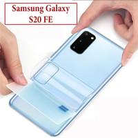Samsung Galaxy S20 FE Anti Gores Belakang Back Screen Protector Clear
