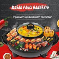 Panci Hot Pot Barbekyu Han River Hot Pot Barbeque Smokeless