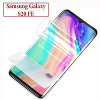 Samsung Galaxy S20 FE Anti Gores Hydrogel Hydro Gel Screen Guard Clear