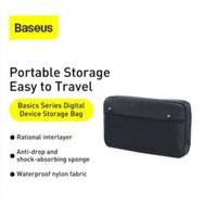 baseus digital storage tas dompet penyimpanan hp pb charger waterproof