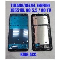 FRAME DUDUKAN TULANG TENGAH LCD ASUS ZENFONE GO 5.5 ZB552KL ORIGINAL