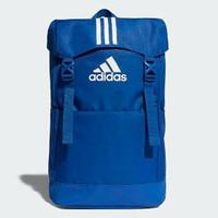 Adidas original backpack bag 3stripe blue white bnwt
