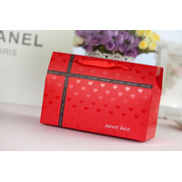XL Paper Bag/ Kantong Kado/ Bungkus Kado/ Goodie Bag Natal Imlek Merah
