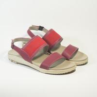 Belisa Girls - Sepatu Sandal Wanita ILONA Maroon - Red - 36