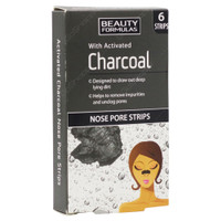 Beauty Formulas Nose Pore Strips with Activated Charcoal BPOM