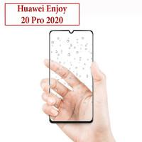 Huawei Enjoy 20 Pro Anti Gores Kaca Tempered Glass Full Lem Protector