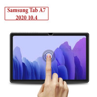 Samsung Tab A7 2020 10.4 Anti Gores Tempered Glass Screen Guard Clear