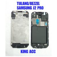 FRAME DUDUKAN TULANG LCD TENGAH SAMSUNG GALAXY J2 PRO J250 ORI