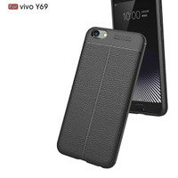 Autofokus Autofocus Softcase Silikon Case Leather Casing Vivo Y69 Y 69