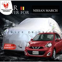 Cover sarung mobil nissan march anti air