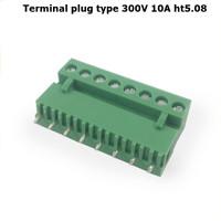 Terminal plug Straight needle type 300V 10A 5.08mm