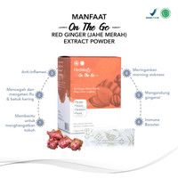 Herbilogy - On The Go - Red Ginger / Jahe Merah Extract Powder