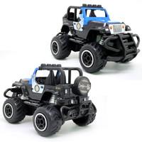 Mainan Mobil Remote Jeep Polisi - RC Police Car
