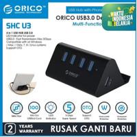 Orico SHC-U3 4 Port USB 3.0 Hub with Phone and Tablet Stander
