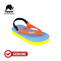Fipper Todd's / Sandal Jepit Anak / Blue Sky / Yellow / Peach