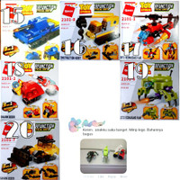 Mainan anak kreatif, seperti lego, building block