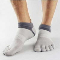 Kaos kaki 5 jari Pria Wanita sport five toe socks olahraga lari trail