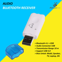 Car Kit Music USB Dongle Audio Bluetooth Receiver For Mobil Speaker