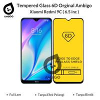 Tempered Glass 6D 9D Xiaomi Redmi 9A / 9C Full Cover Ambigo