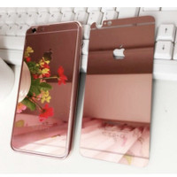 iPhone 5 Tempered Glass Mirror Chrome Antigores Glass Warna iPhone 5s