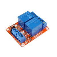 Modul Relay 2 Channel 5V Optocoupler H / L Level Trigger