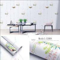 Home Wallpaper Sticker Dinding Pot Bunga Gantung - 45cm X +-10m