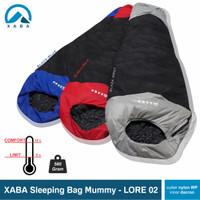 Sleeping bag mummy xaba Lore-UL nylon waterproof dan polar