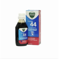 Vicks formula 44 sirup 100 ml ( obat batuk kering dewasa )