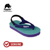 Fipper Todd's / Sandal Jepit Anak / Turquise / Purple Dark / Navy