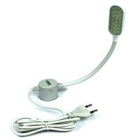 Lampu Mesin Jahit LED Touchscreen Magnet Colokan dengan Dimmer 3 Tahap