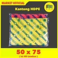 Kantong Plastik Kresek Warna-Warni Tebal UK 50x75 HDPE