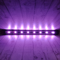 lampu aquarium gaxindo panjang 3watt pink
