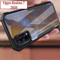 Oppo Realme 7 2020 Hard Soft Case Casing Cover Transparan Airbag Kuat