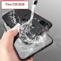 Vivo Y20 2020 Soft Leather Case Casing Cover Deer Kesing Tahan Air